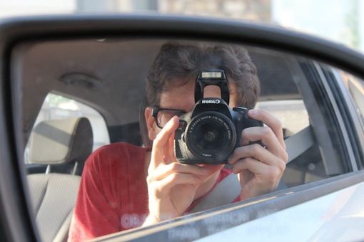 Me with my new Canon Rebel T3i camera