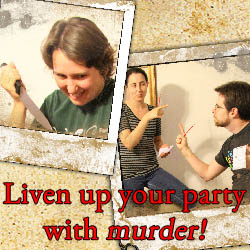 The Movie Murder Mystery Party Book