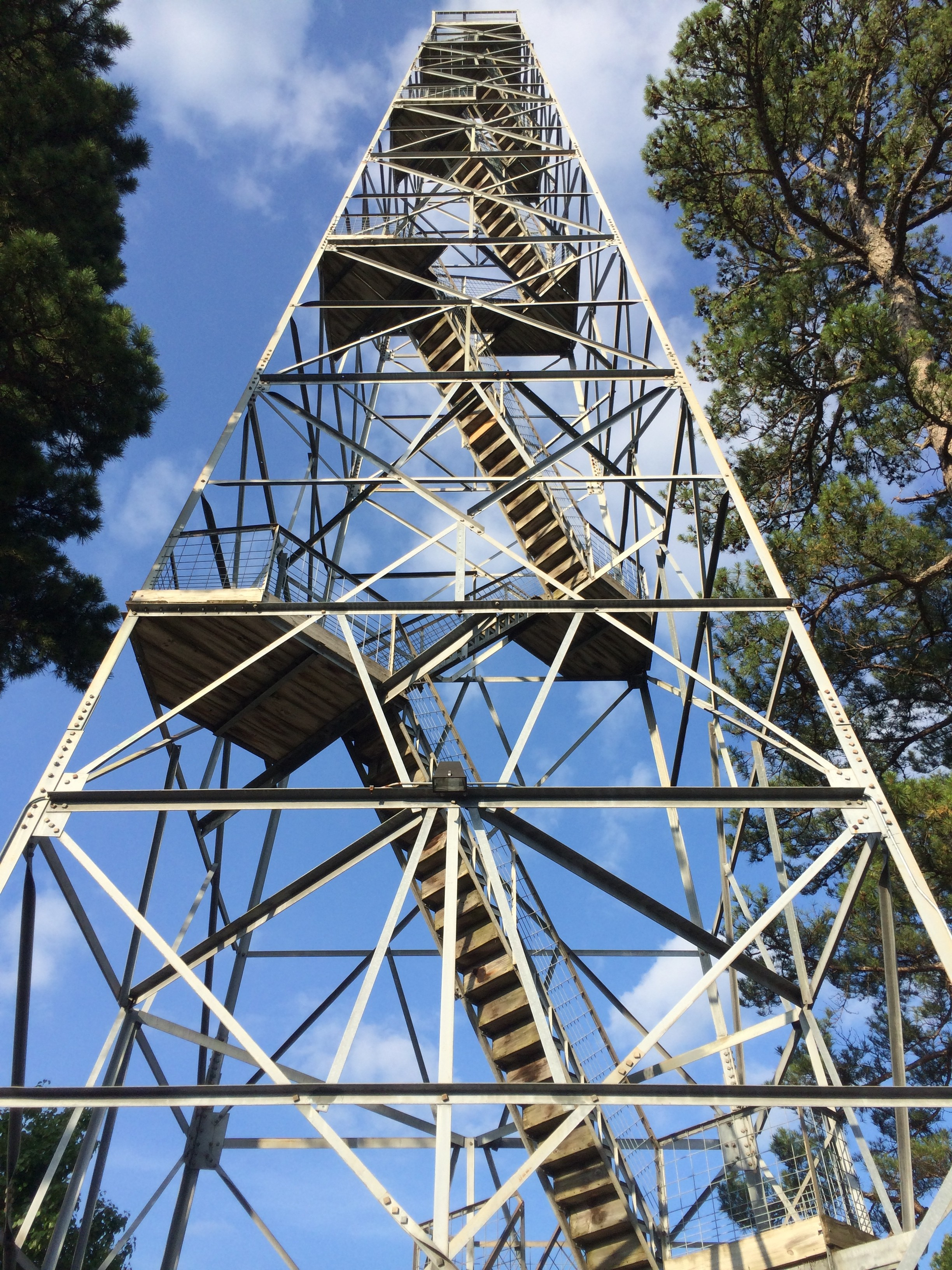 observation tower eureka springs arkansas ozarks unique views