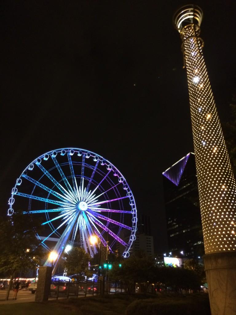 2014-08-30 Downtown Atlanta. Photo by Dennis Spielman