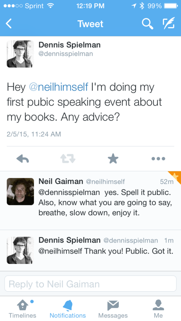 Twitter Chat with Neil