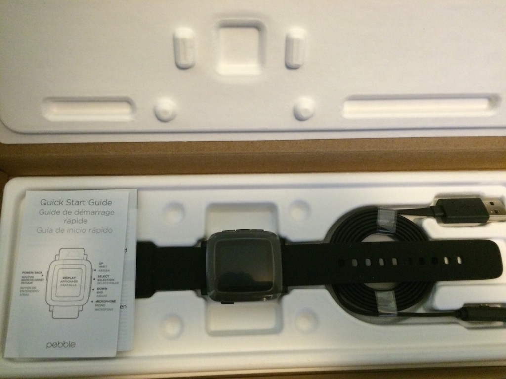 The Pebble Time Unboxed