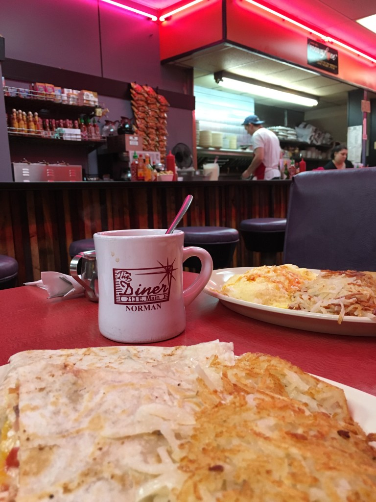 Breakfast at The Diner - photo by Dennis Spielman