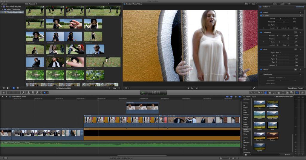 Editing Friction