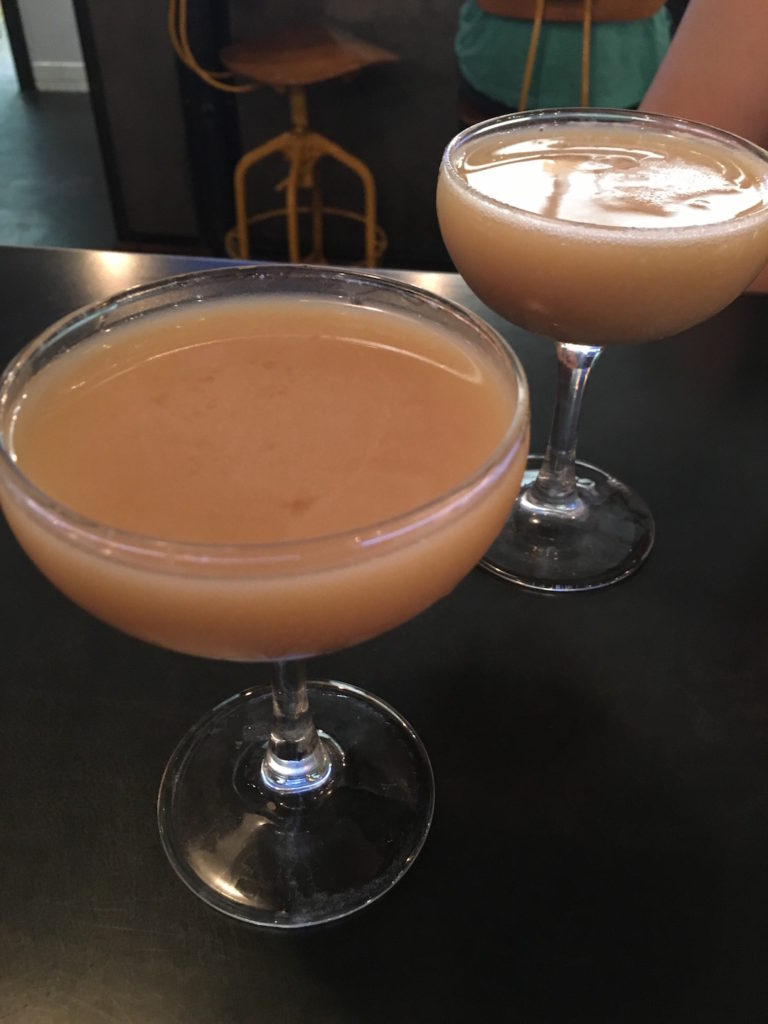 The District Up Cocktail made by Oak and Ore