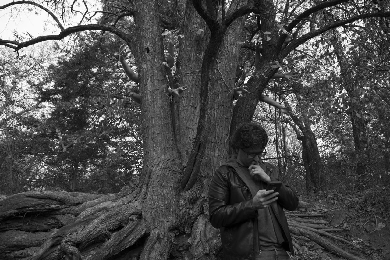 The Search for the Tree with Hands - photo by Dennis Spielman