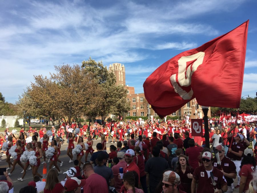 OU Homecoming 2016 - photo by Dennis Spielman