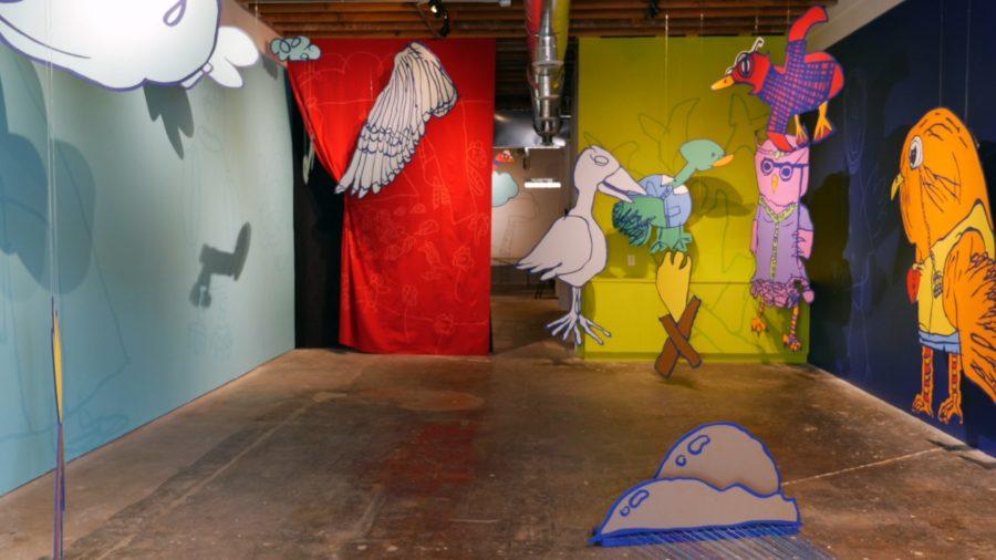 Current Studio - photo by Dennis Spielman