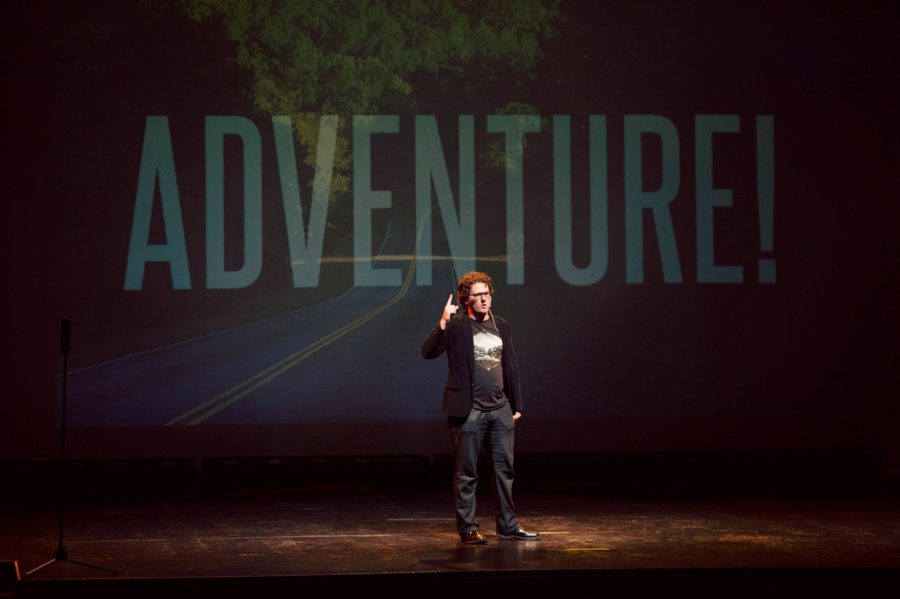 Adventure - Photo of Dennis Spielman at Ignite OKC