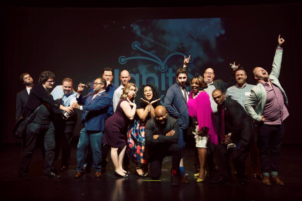 Silly Group Photo of Ignite OKC X