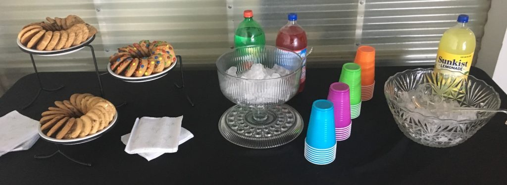 Cookies and Drinks