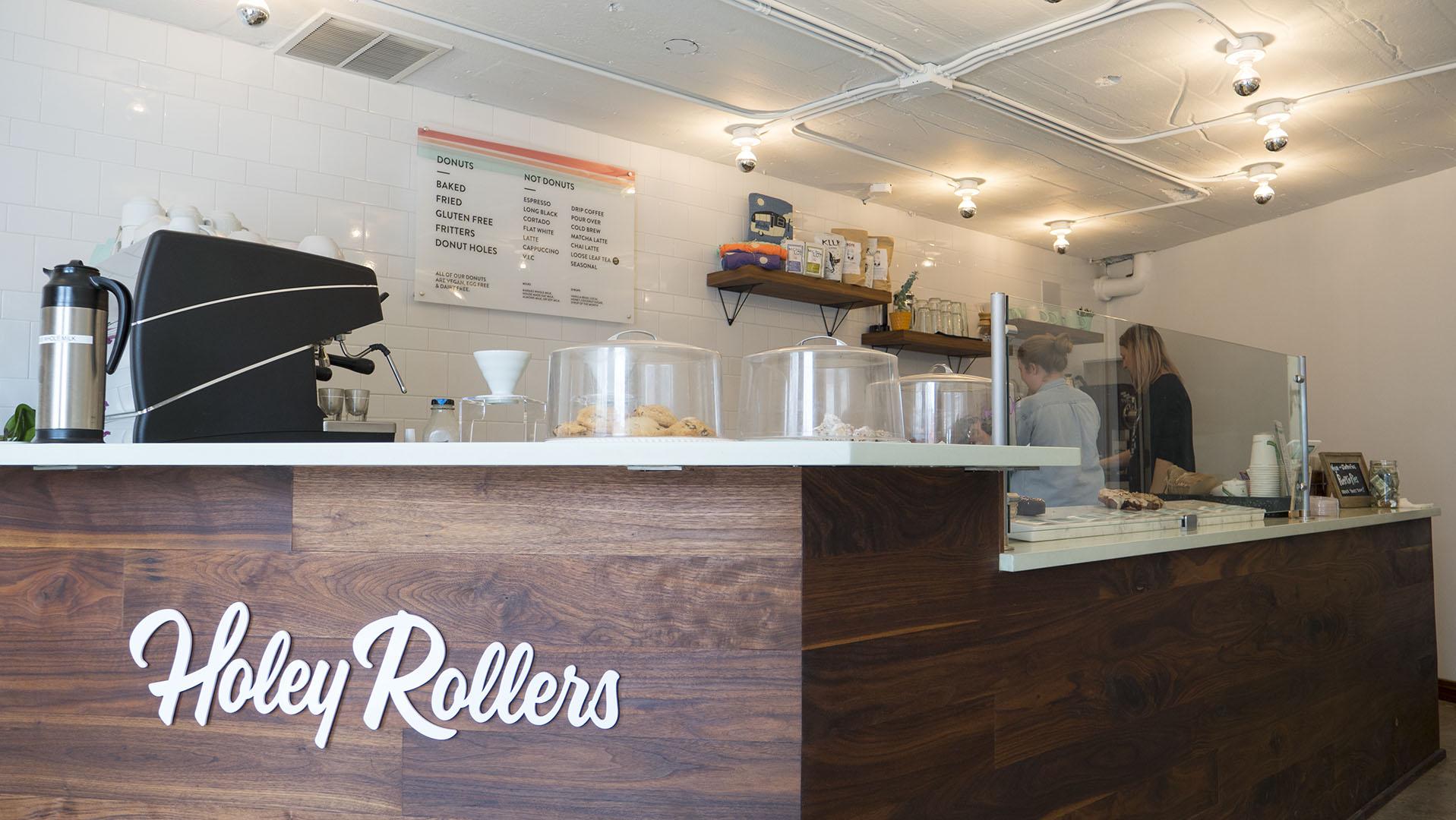 Inside Holey Rollers - photo by Dennis Spielman