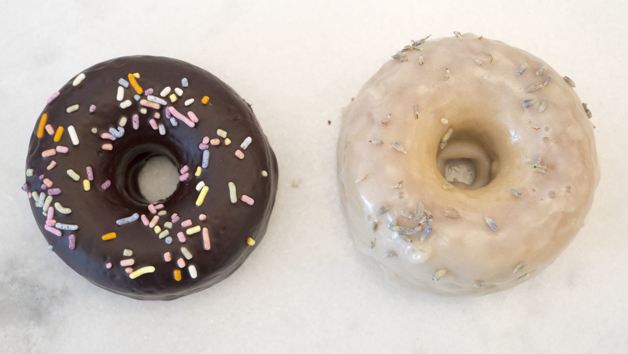 Donuts from Holey Rollers - photo by Dennis Spielman
