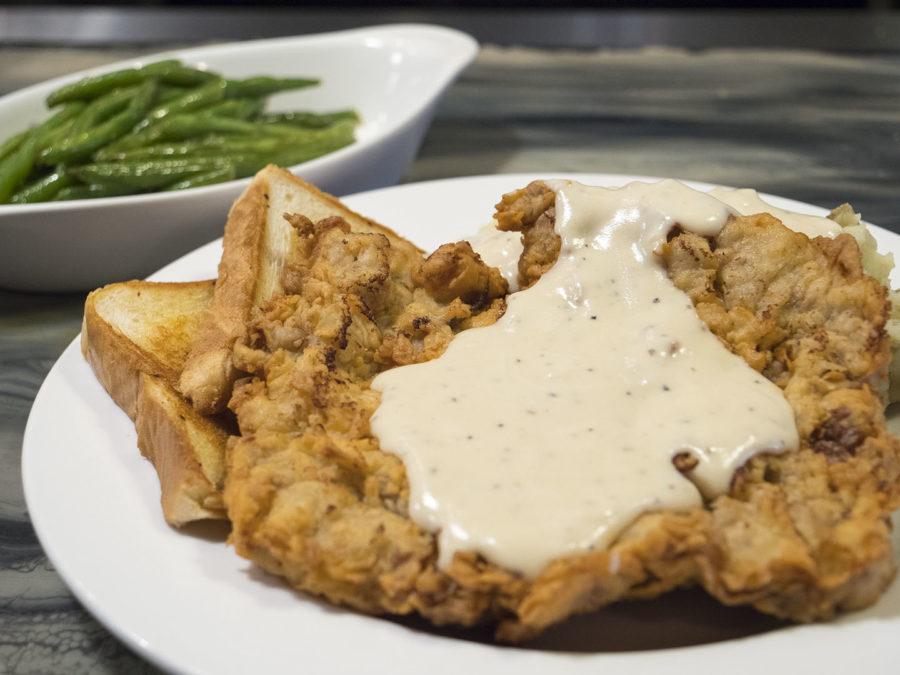 Chicken-Fried Steak at The Miller Grill - photo by Dennis Spielman