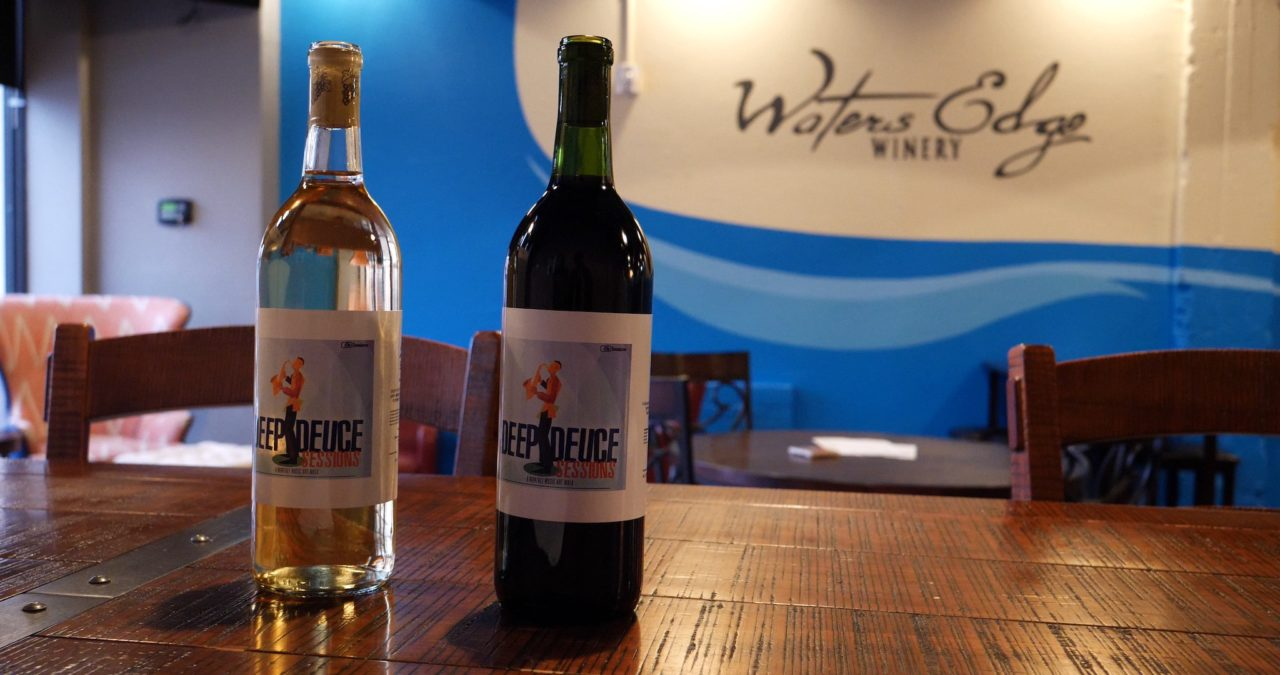 Waters Edge Winery Deep Deuce Sessions Wines - photo by Dennis Spielman