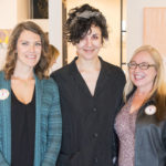 Sarah Day-Short, Alexis Austin, and Debra Ashley at Chromatic Ritual - photo by Dennis Spielman