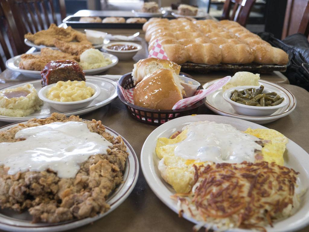 Jimmy's Round-Up Cafe - photo by Dennis Spielman