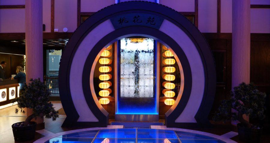 Kwan's Kitchen Lobby - photo by Dennis Spielman