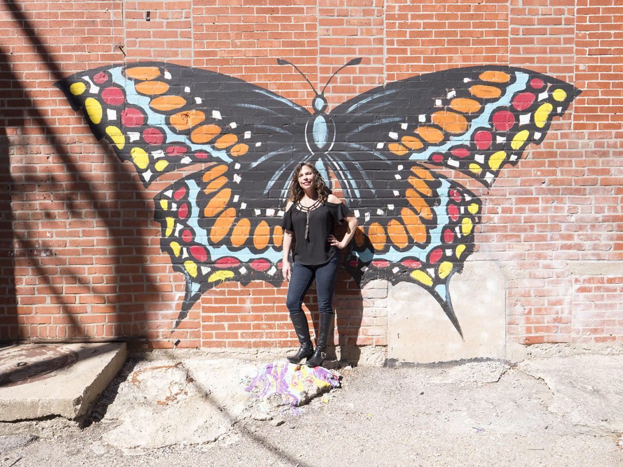 Heide at Urban Art Alley