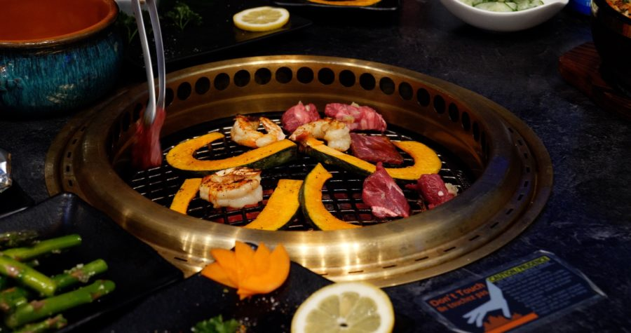 Wagyu Japanese BBQ - photo by Dennis Spielman