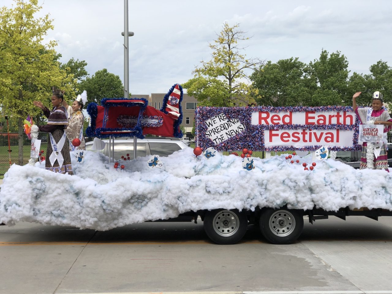 Red Earth Parade - photo by Dennis Spielman
