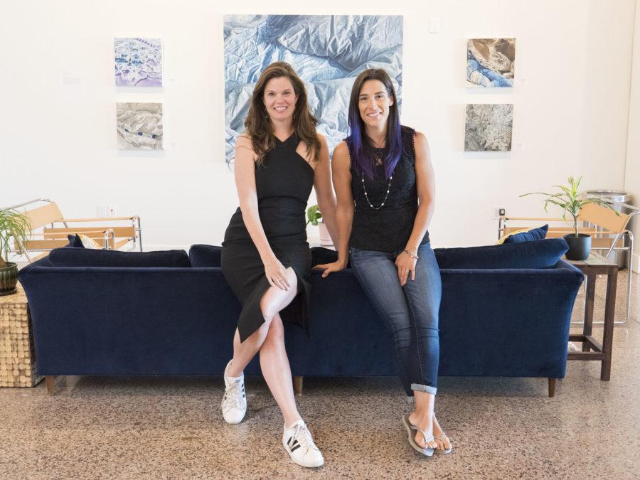 Mary James Ketch and Erica Bonavida at Persistence of Vision