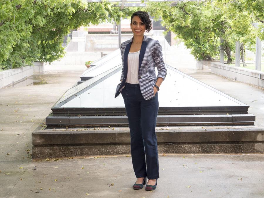 Dr. Sepideh Razavi - photo by Dennis Spielman