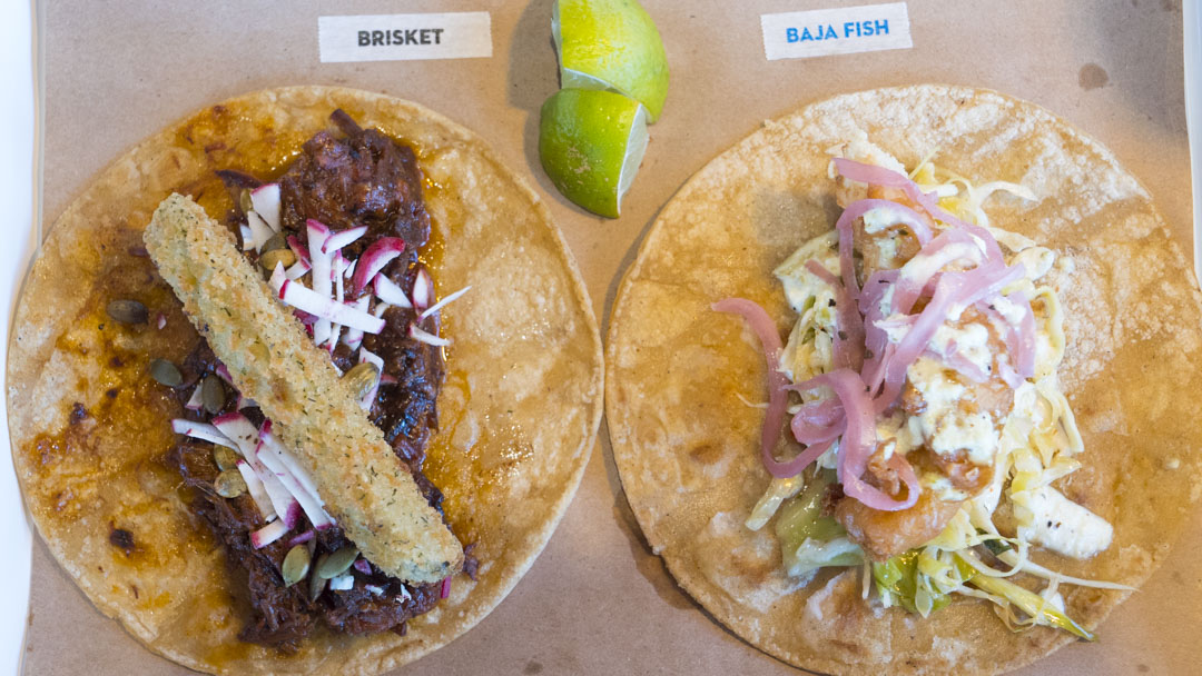 Tacos at OSO - photo by Dennis Spielman