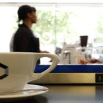 Coffee at Clarity Coffee - photo by Dennis Spielman