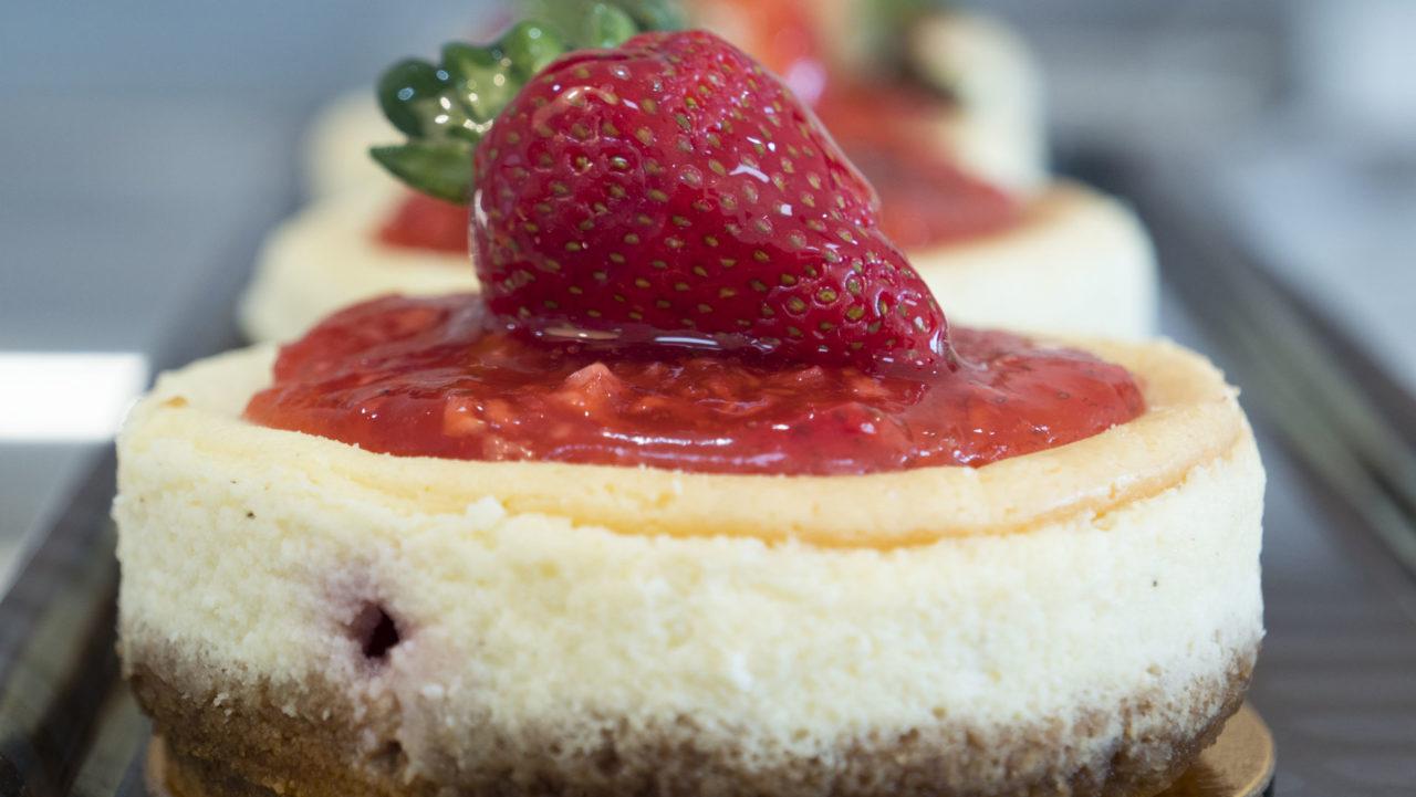 Strawberry Shortcake at Dolci Paradiso - photo by Dennis Spielman