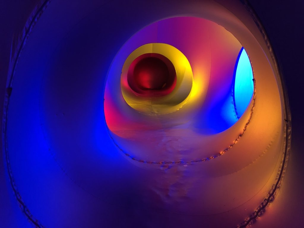 Inside the Luminarium Albesila - photo by Dennis Spielman