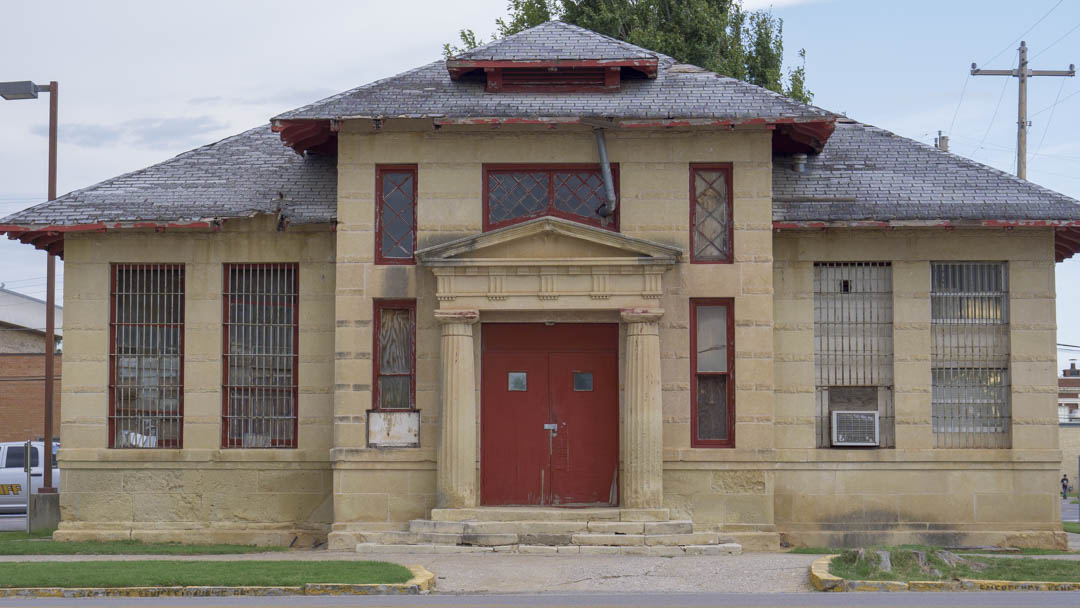 Old El Reno Jail - photo by Dennis Spielman